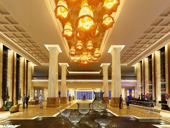[四川]最佳旅游城市豪华标准五星级酒店设计方案