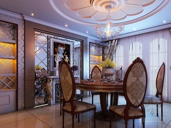 欧式豪华客餐厅