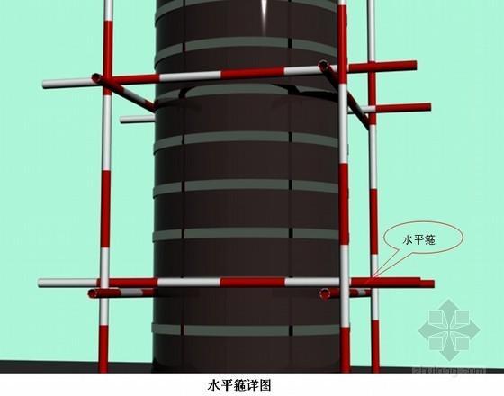 建筑工程木质圆柱模板施工工法