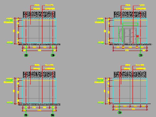 [浙江]轨道交通工程6座地下车站公共区装修工程竣工图纸440张CAD