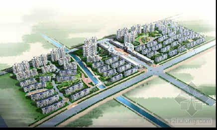 上海某住宅小区规划方案效果图集