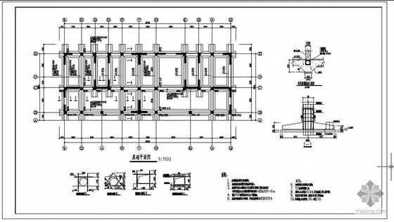 某底框住宅结构设计图