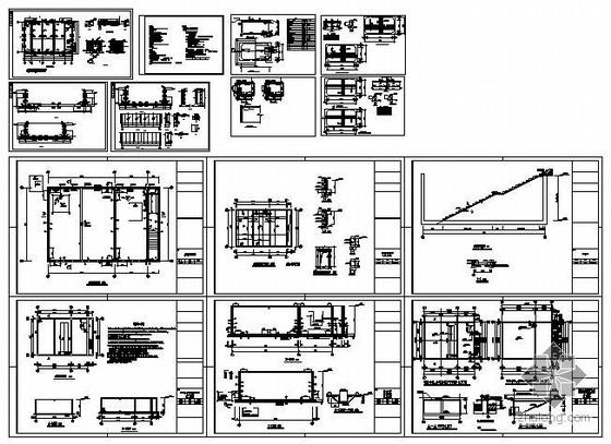 [建筑]室外消防钢楼梯大样图资料下载分享轴代表里都图纸各个什么图片