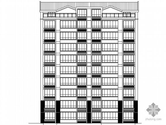 [太仓]某九层住宅楼建筑施工图(27和28号楼)