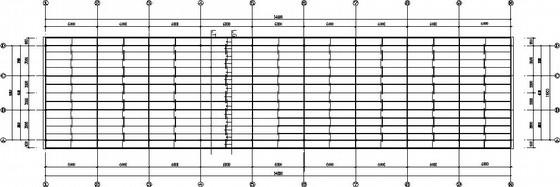 钢管钢桁架厂房结构施工图