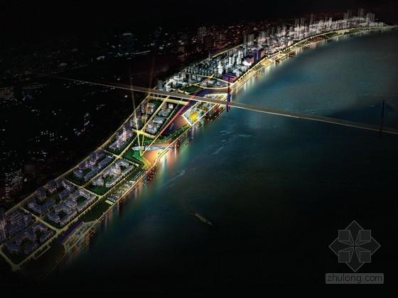 [上海]城市要塞滨江沿岸控制性规划设计方案