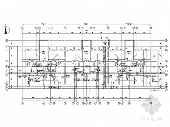 [北京]18层剪力墙高层住宅结构施工图(平板式筏基)