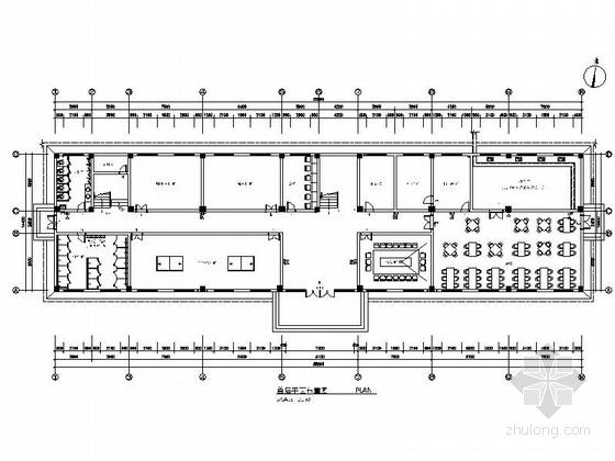 [湖南]看守所营房室内装修设计施工图