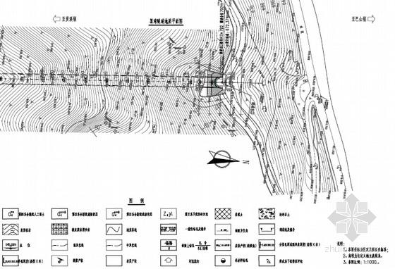 [浙江]双向单洞公路偏压隧道设计图纸61张(含照明)
