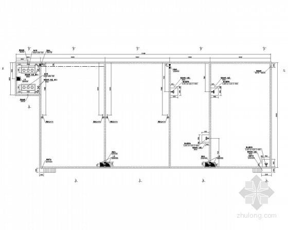 10000m³/日污水处理工程工艺图