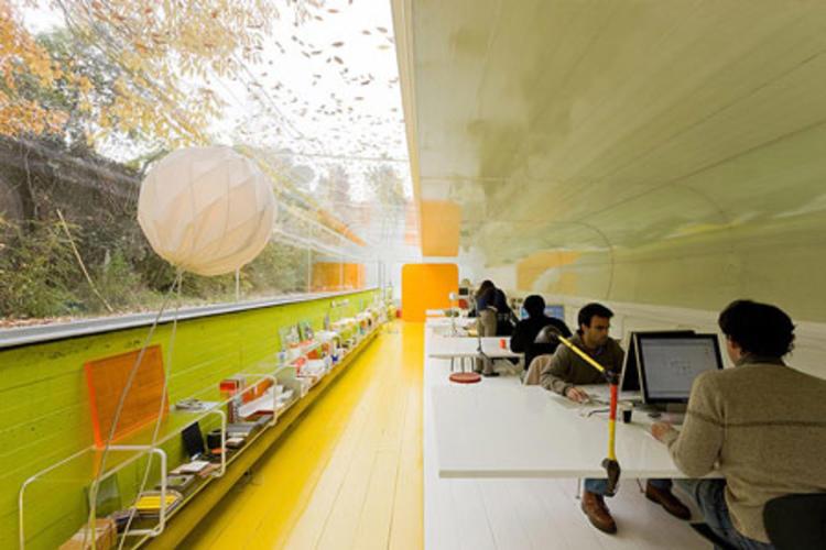 建筑师给自己设计的办公室,什么样的都有_20