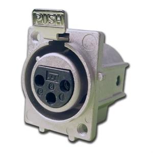 ITT圆形连接器改进的电磁干扰屏