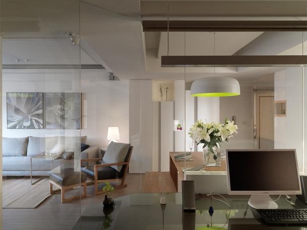 成都80平现代简约风设计  不是所有客厅都一定要茶几