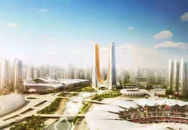 63层,310米,杭州第一高楼世界首创应用悬垂网格钢结构