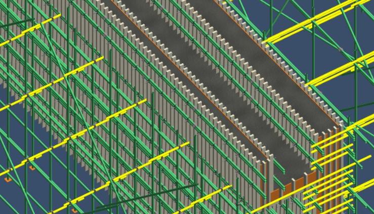 sketchup创建钢筋混凝土三维模型的方法