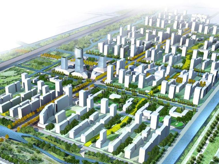 [上海]闵行马桥大型混合居住区概念性规划设计方案文本