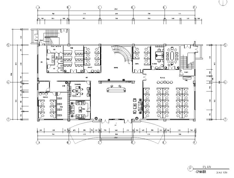 [广东]奔腾科技办公楼施工图