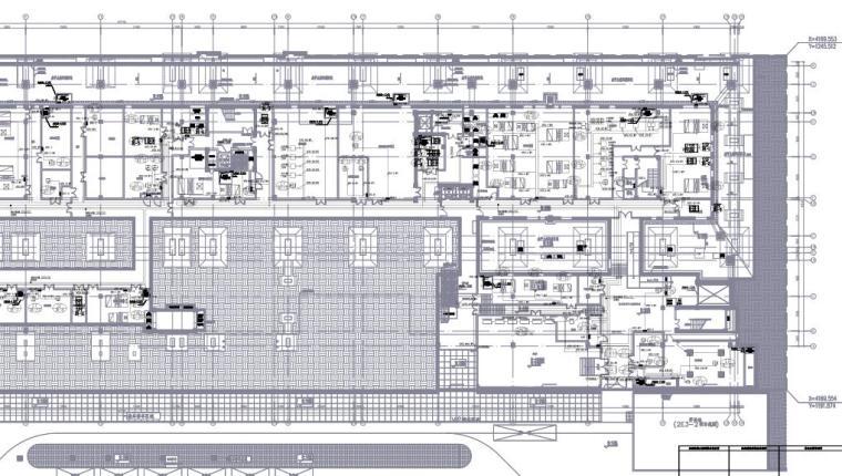 上海演出剧场及配套商业餐饮机电施工图
