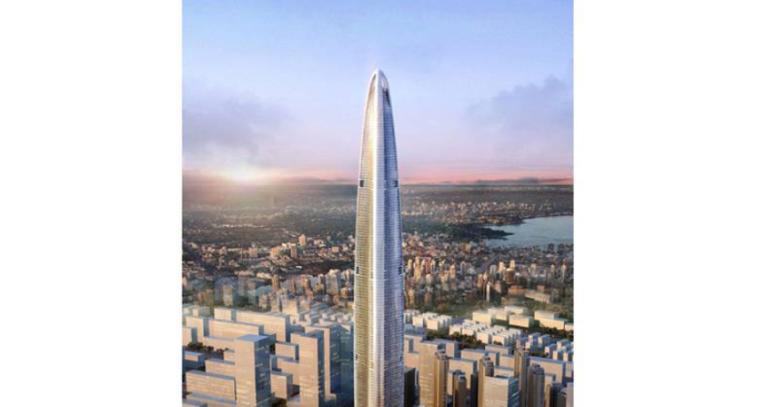 [武汉绿地中心项目]主塔楼F2-F3幕墙钢环梁施工专项方案