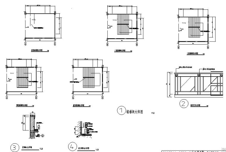某4层图书馆全套设计(10000多平,含计算书、建筑/结构/施工图)_3