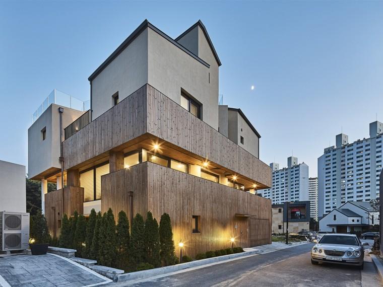 韩国西南缘的新建住宅社区