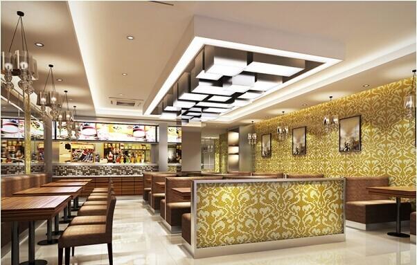 餐厅电气消防资料下载-餐饮消防设计-开远餐厅装修设计公司