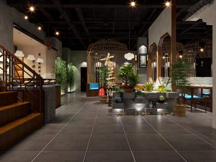成都中餐厅装修设计公司-《徽州人家特色餐厅》-古兰装饰-徽州人家特色餐厅2.jpg