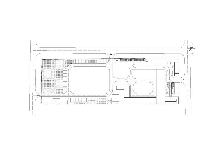 [甘肃]食品有限公司厂区工业建筑施工图(CAD)