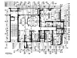【广东】现代风格样板房施工图(含效果图)