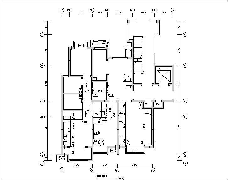 浪漫法式风格星河上城样板间设计施工图(附效果图)