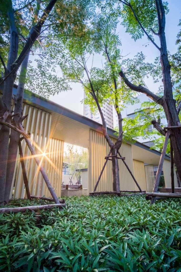 曼谷日本工艺与现代融合的Life住宅-3