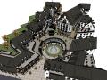 瑞士风情商业街SU模型