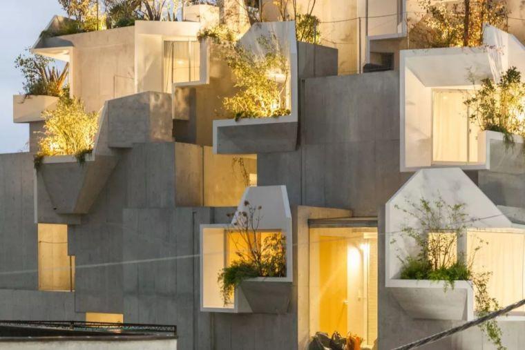 """伊东丰雄徒弟设计的房子,用混凝土堆砌了众人惊艳的""""森林之家"""""""