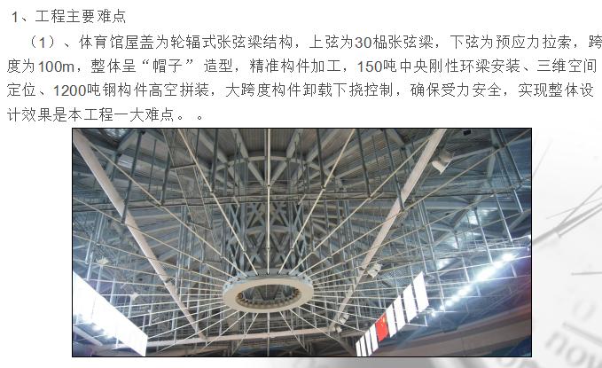 大学体育馆工程施工及质量情况汇报