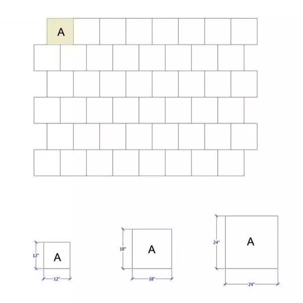 师傅总结的12种瓷砖铺贴方式,别让瓷砖毁了你的家!_7