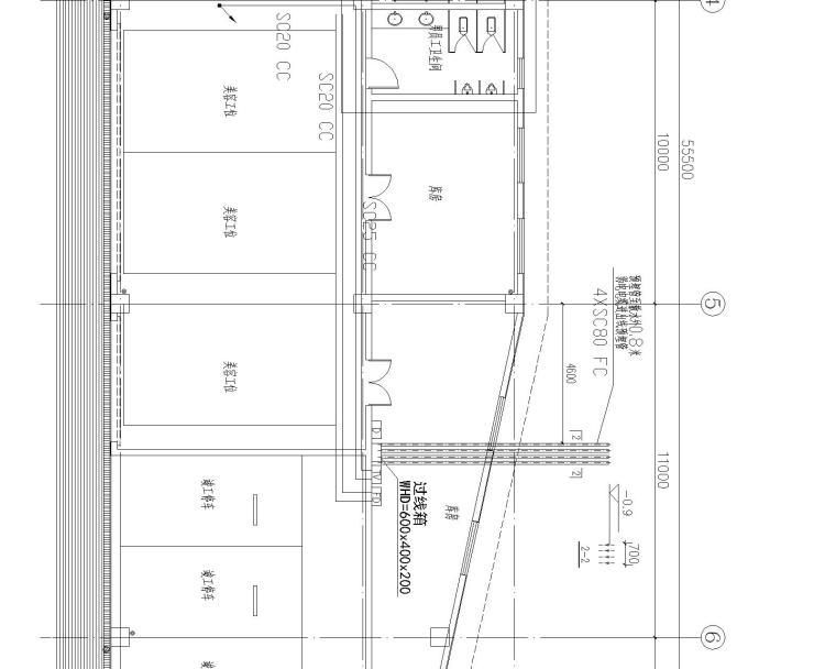 [浙江]温州骏佳雷克萨斯汽车经销店附属用房电气施工图纸_3