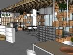 体验店设计项目(含SU模型图)