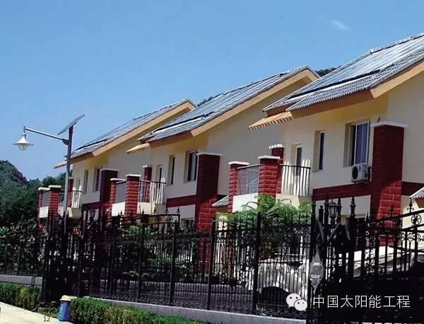 太阳能采暖工程案例集中展示