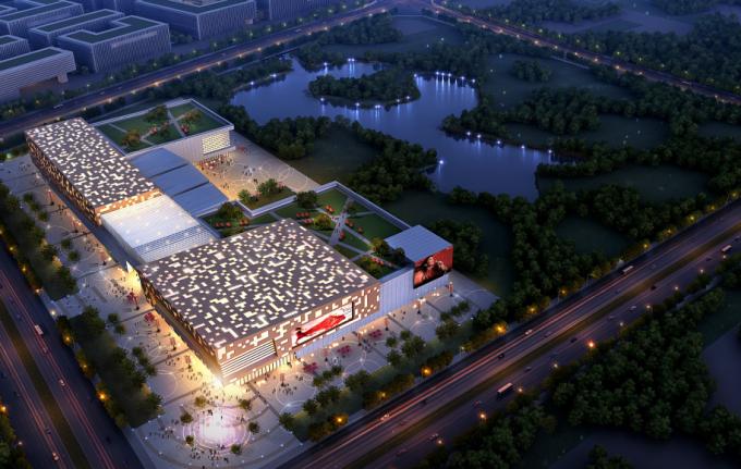 """[海南]""""产城融合""""生态海洋高新技术产业园区城市景观规划设计方案_7"""