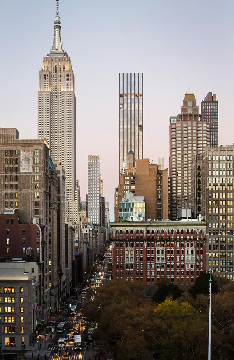 纽约塔式277层公寓