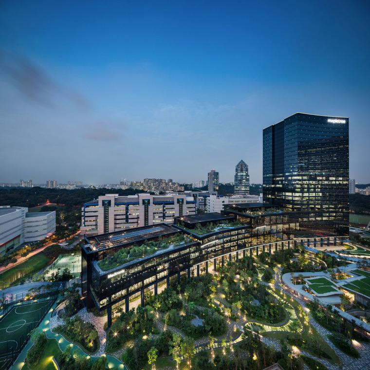新加坡丰树商业城景观-9