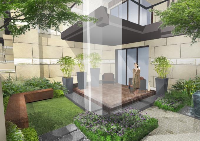 [贵州]滨水山林台地别墅花园园林景观设计方案