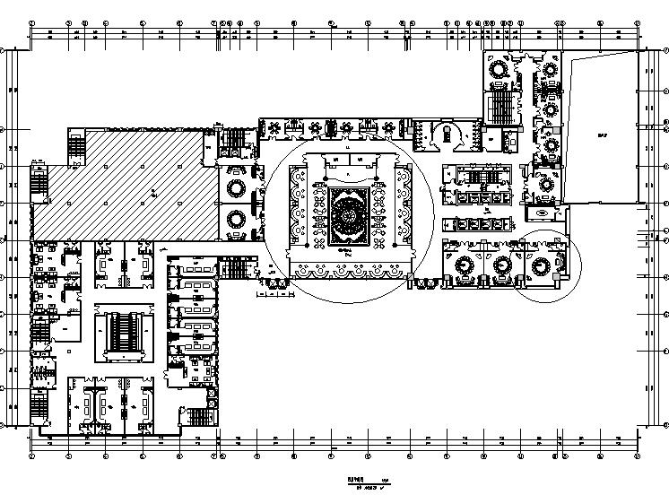 【重庆】现代奢华国际大酒店设计施工图(附效果图)_5