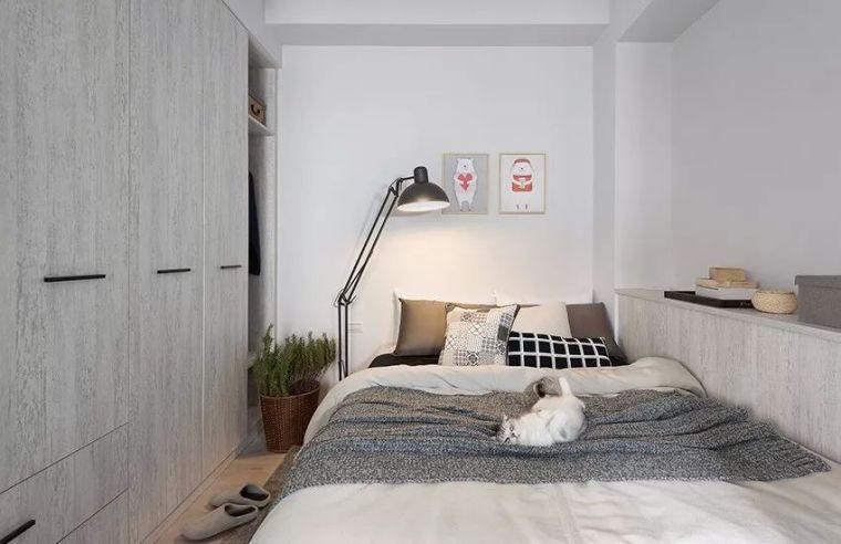 有了这40㎡的单身公寓,只想宅在家里撸猫_17