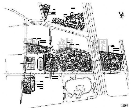 旧城改造总规划图