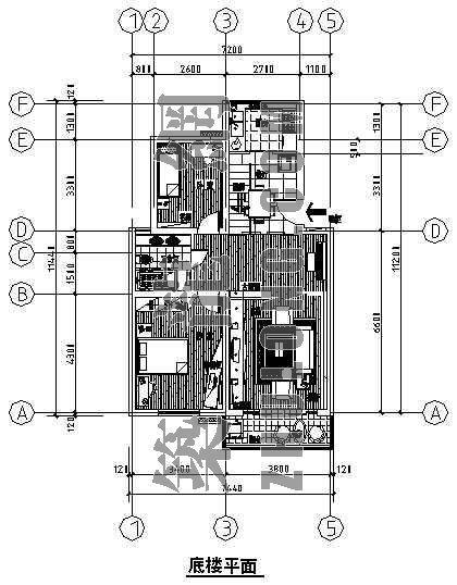 阁楼跃层家装住宅装修图