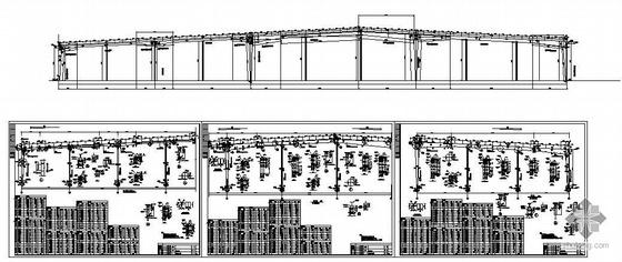 内蒙古某乳业公司新建厂房工程结构图