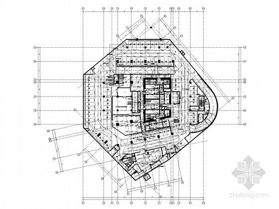 [深圳]知名超高层大厦强电系统施工图纸283张(39层,181米)
