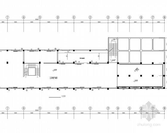厂房建筑散热器采暖系统设计施工图(机械循环热水系统)