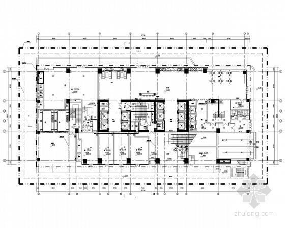[广东]高层商务大厦强弱电系统施工图(含说明书)